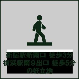 代々木駅徒歩1分の好立地